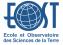 Logo Ecole et Observatoire des Sciences de la Terre